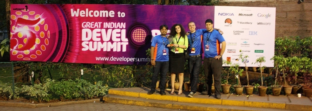 Telerik Folks at GIDS