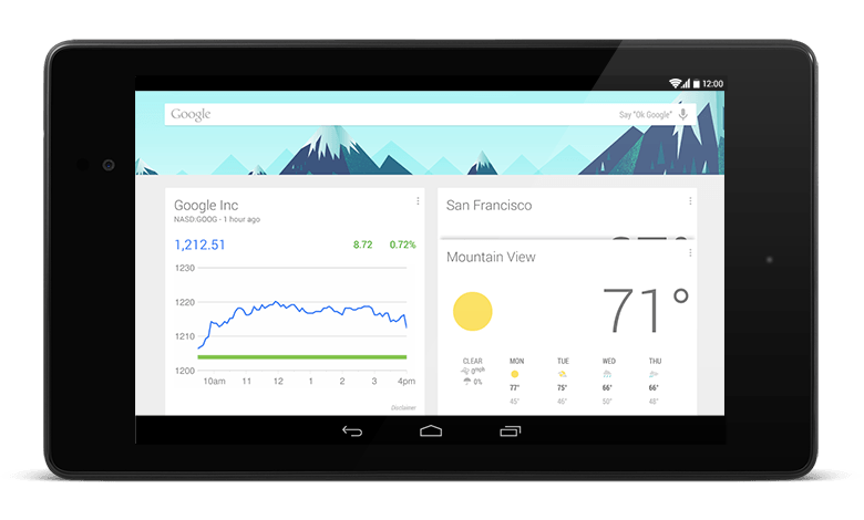 Is cards UI the future of mobile: showing Google Now on mobile