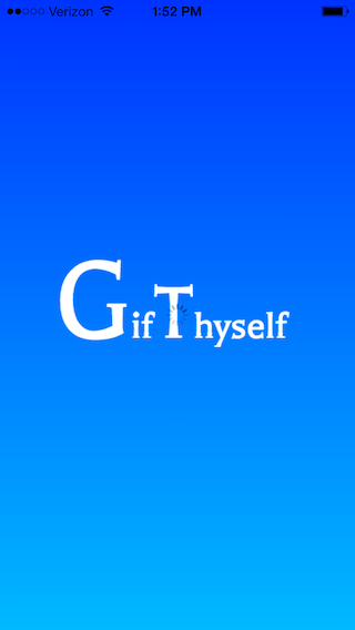 Splash screen for GifThyself