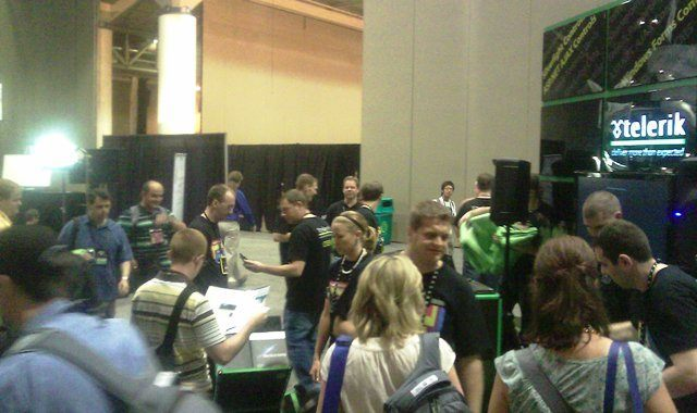 TechEd2010 Telerik Booth