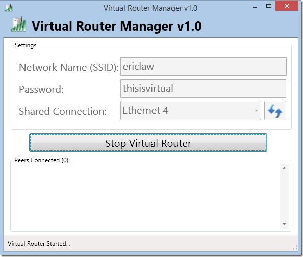 Capturing Traffic via Virtual Router