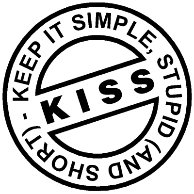 Keep it simple image