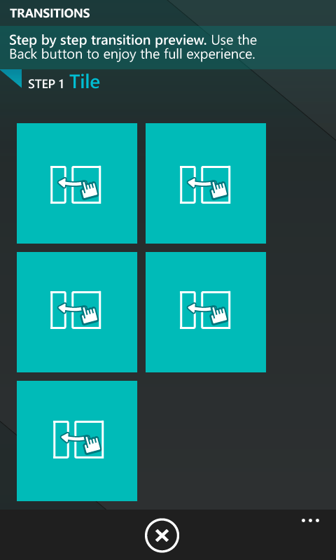 Page Transitions for Windows Phone 7