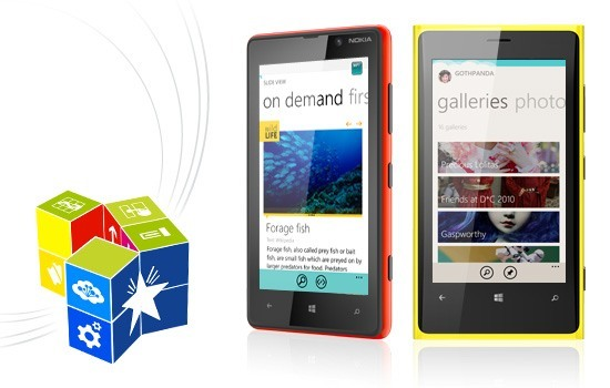 Nokia Windows Phone screenshot