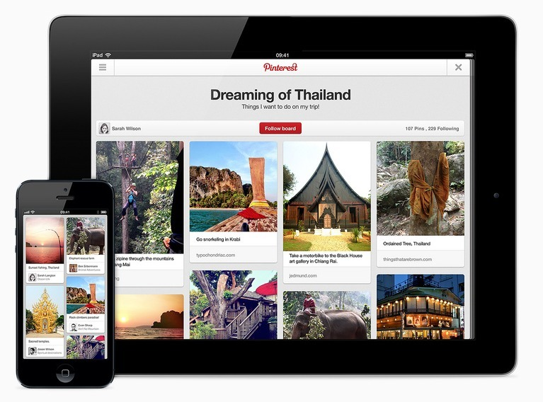 Is Cards UI the future of mobile: Pinterest using them on mobile