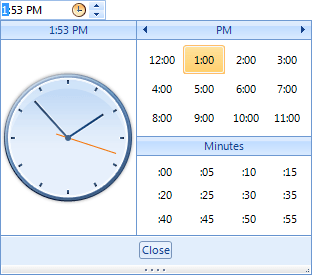 Pick your time with RadTimePicker for WinForms