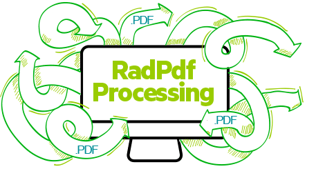 RadPDFProcessing for WinForms by Telerik