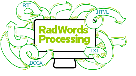 RadWordsProcessing for WinForms by Telerik