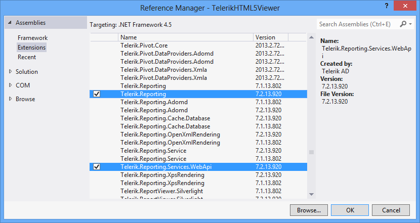 Telerik reporting report book tutorial