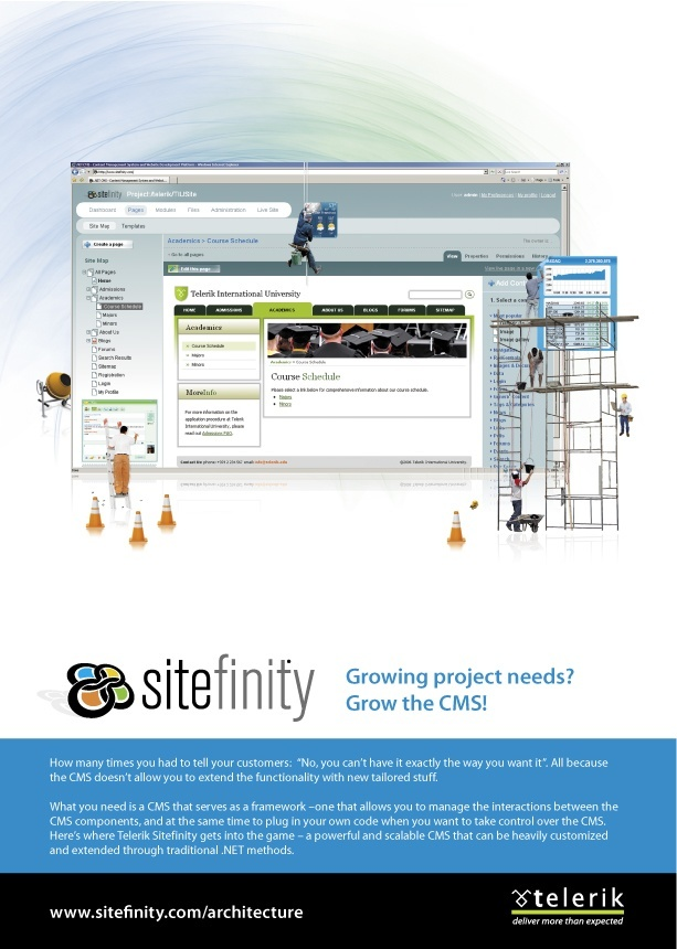 Sitefinity ad. The last one