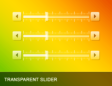 Transparent Slider