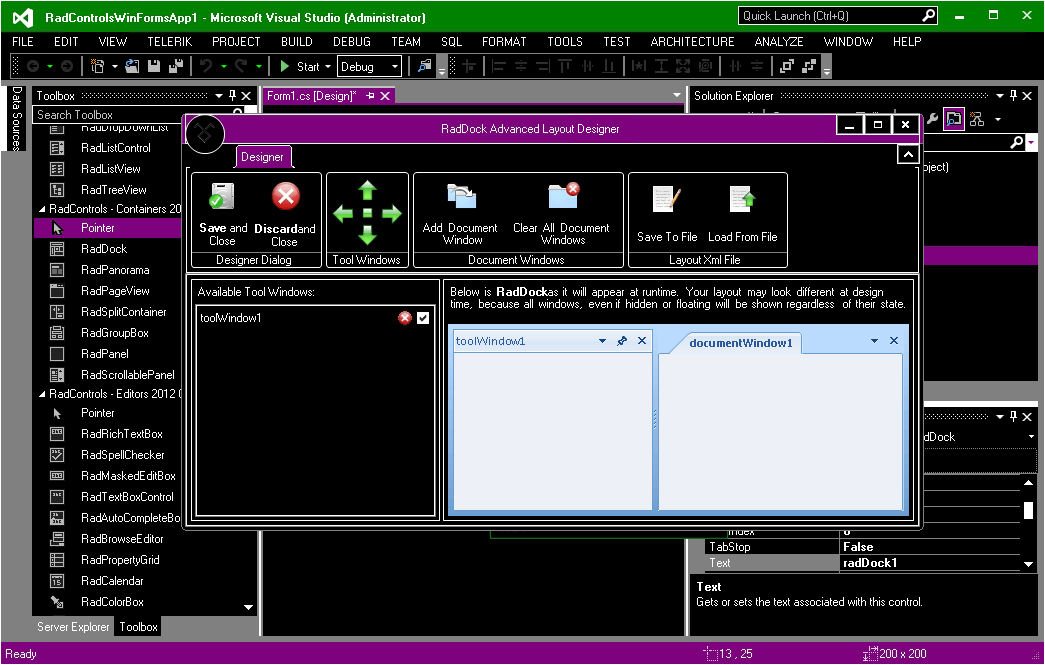 VisualStudio 2012 HighContrast Theme