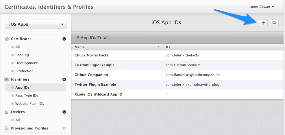 how to create developer id application certificate