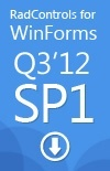 Download RadControls for WinForms Q3 2012 SP1