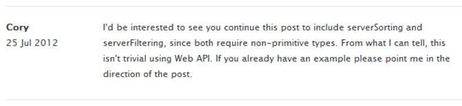 Ask Kendo UI – Server Side Sorting With WebAPI
