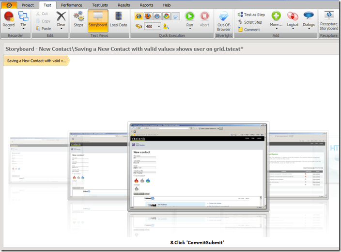 Creating Test Case Documentation via Test Studio's Sto