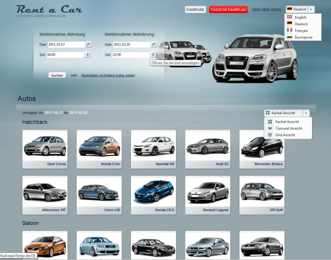 AJAX_CarRental_Localization