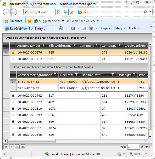 Master-Details With RadGridView For Silverlight 4, WCF RIA S