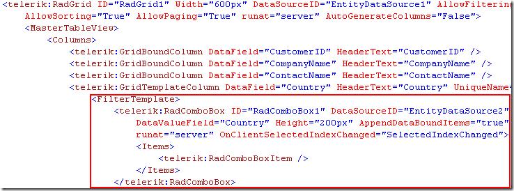 New feature: ASP.NET AJAX grid filter template
