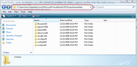 2 - ProjectAssemblies Folder