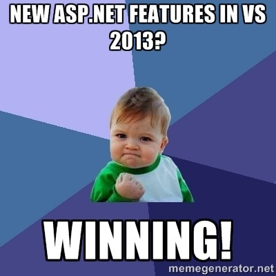 Upgrade to Visual Studio 2013 and start winning!