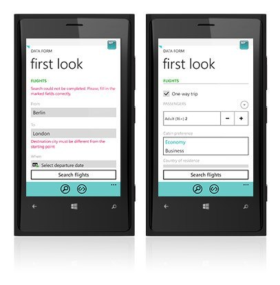 Windows Phone control