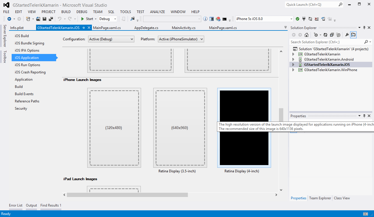 Building a mobile cross platform app from a shared c code base with telerik ui for xamarin select retina image ccuart Image collections