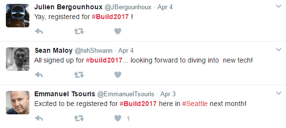 /Build 2017 Anticipation Twitter - 2 image