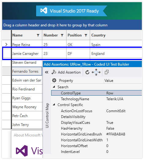 UI for WPF VS 2017 Support