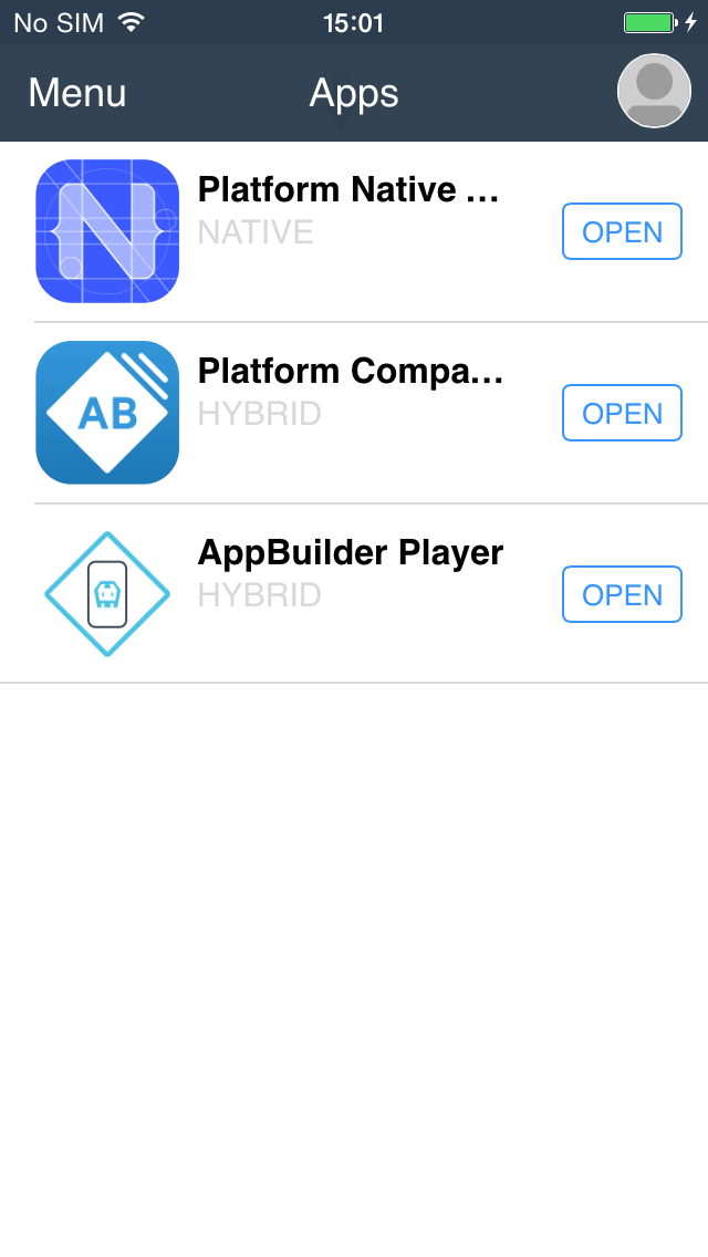 Companion Apps Project List