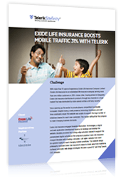 Exide Life Insurance boosts mobile traffic with Telerik