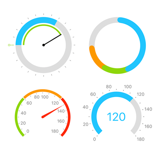 Radial Gauge for Xamarin