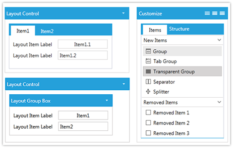 layout control for WPF