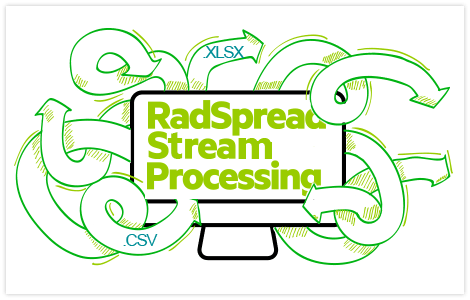 UI for Xamarin SpreadStreemProcessing