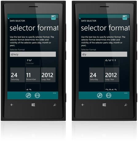 Windows phone date picker control raddatepicker for Telerik window