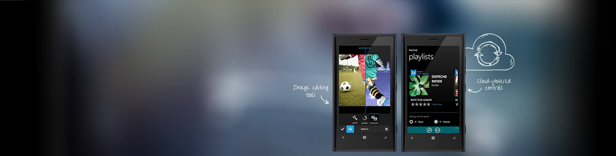 Windows phone controls for Telerik window