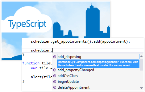 TypeScript Definitions for All Telerik ASP.NET WebForms Controls
