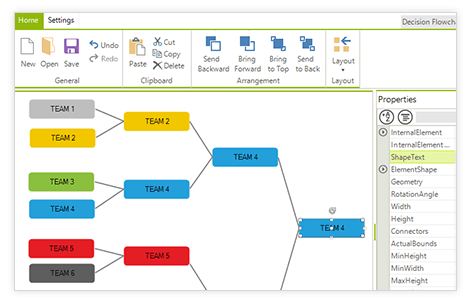 diagram winforms