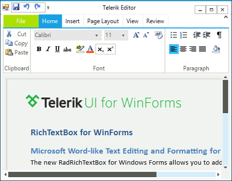 WinForms_RibbonUI