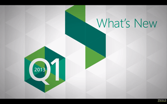 What's New in Telerik Q1 2013